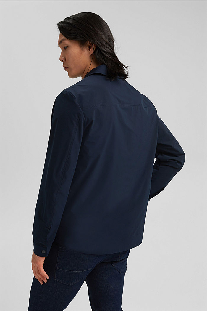 On the move: atmungsaktives Overshirt, DARK BLUE, detail image number 3