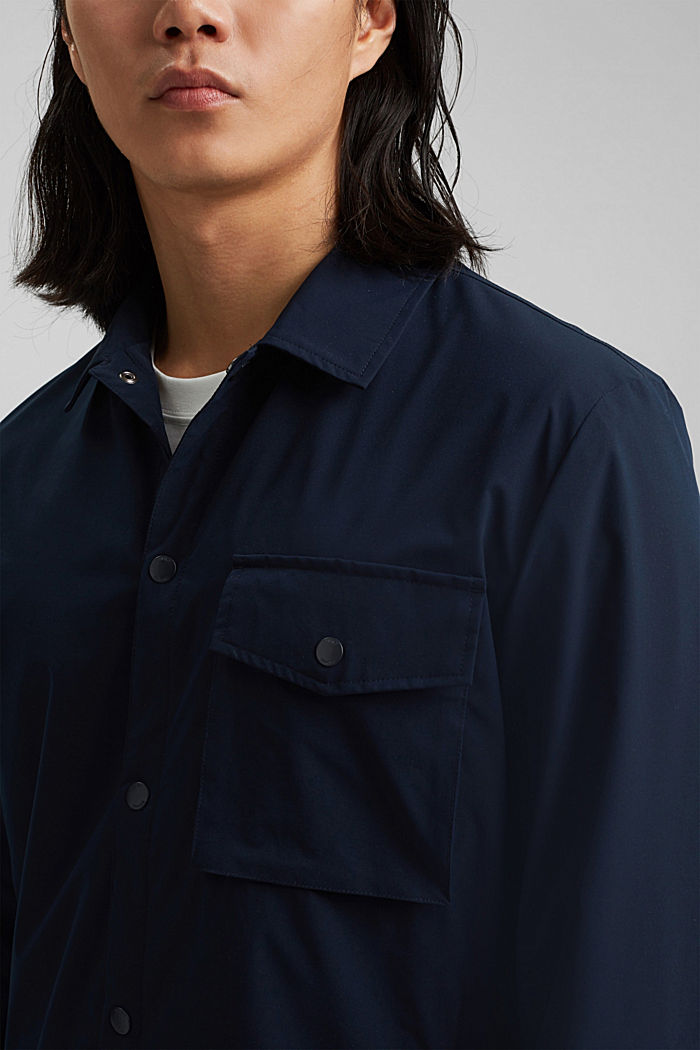 On the move: atmungsaktives Overshirt, DARK BLUE, detail image number 2