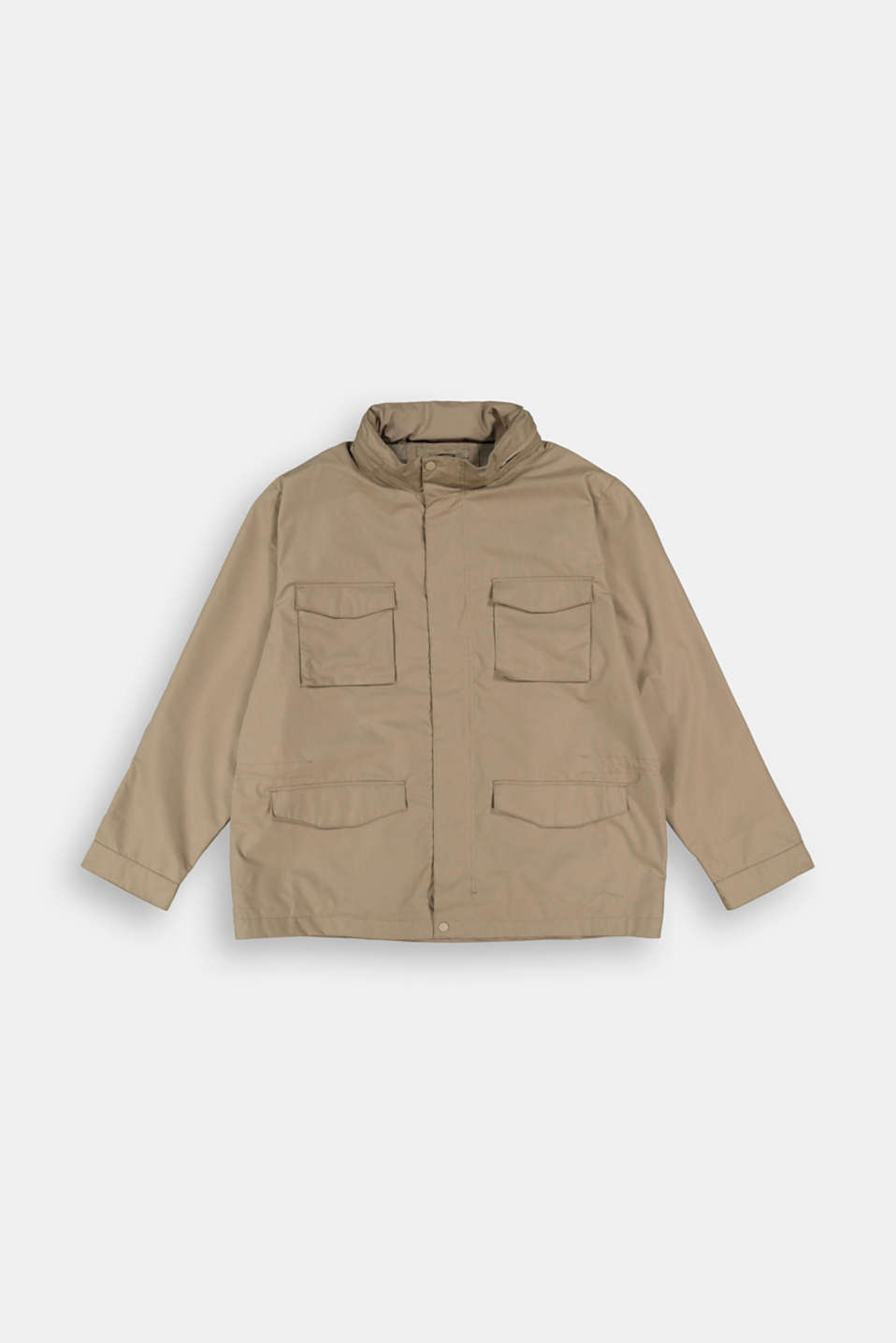 Esprit - Recycled: Weatherproof field jacket