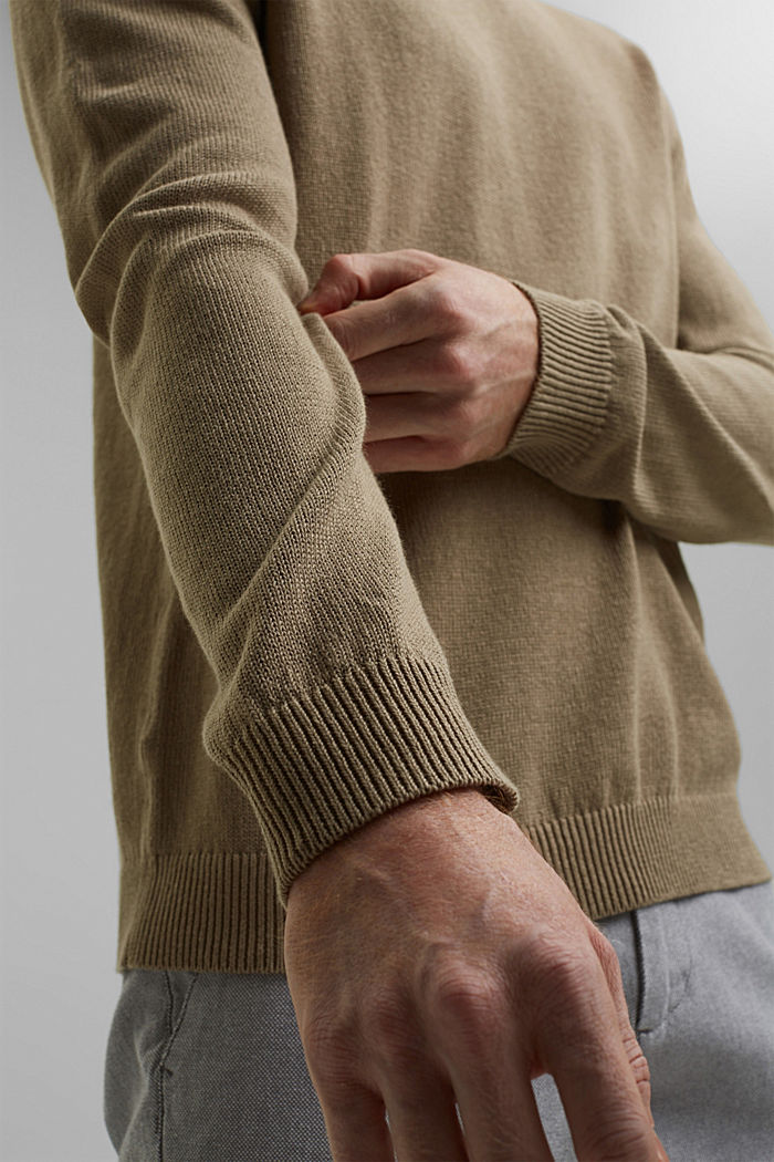Leinen/Organic Cotton:, BEIGE, detail image number 2