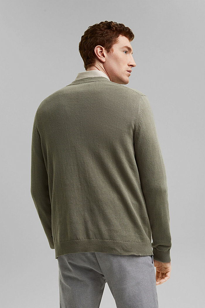 Leinen/Organic Cotton:, LIGHT KHAKI, detail image number 3