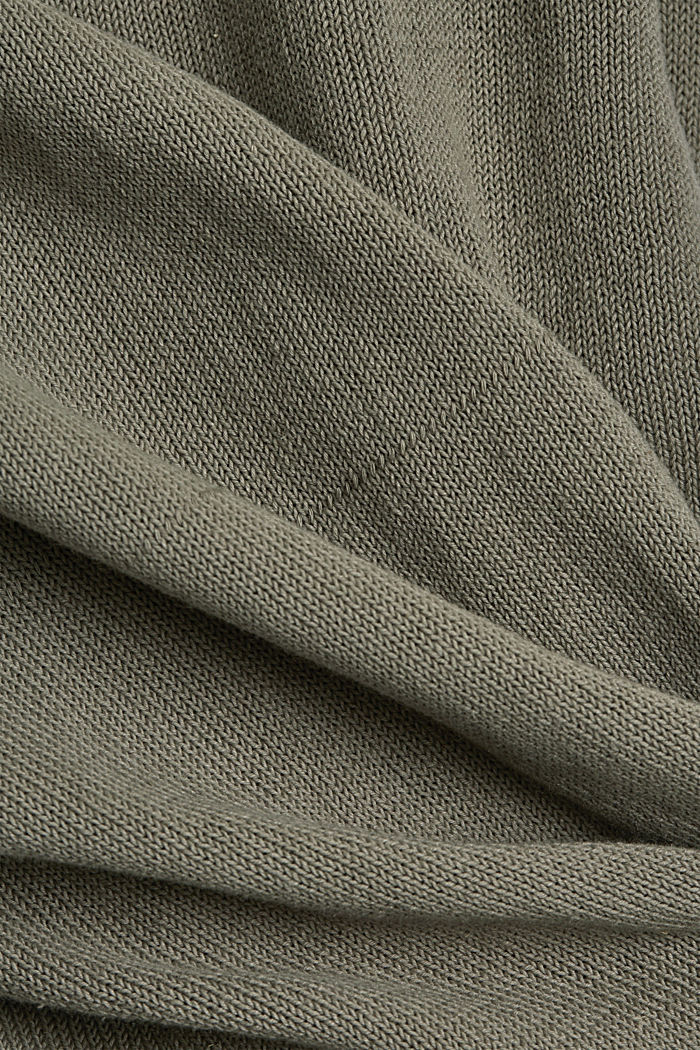 Leinen/Organic Cotton:, LIGHT KHAKI, detail image number 4