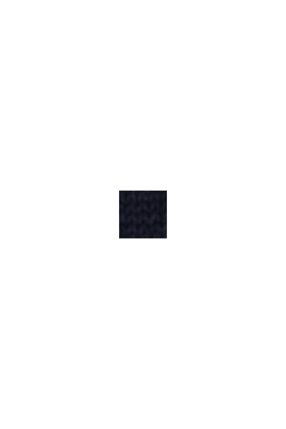 Linnen/biologisch katoen: trui met strepen, NAVY, swatch