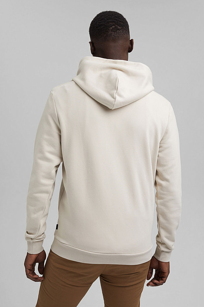 Recycelt: Hoodie mit Organic Cotton, LIGHT BEIGE, detail image number 3