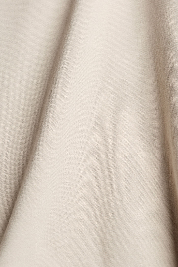 Recycelt: Hoodie mit Organic Cotton, LIGHT BEIGE, detail image number 5