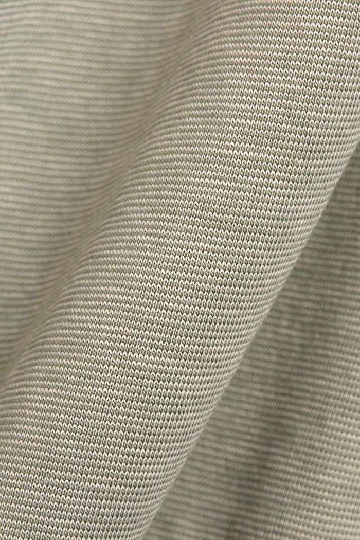 Polo en jersey, 100% coton bio, LIGHT KHAKI, detail image number 4