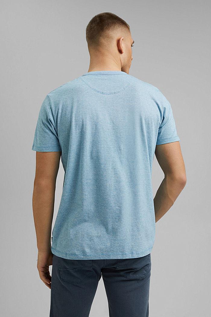 Jersey-Shirt aus 100% Organic Cotton, PETROL BLUE, detail image number 3