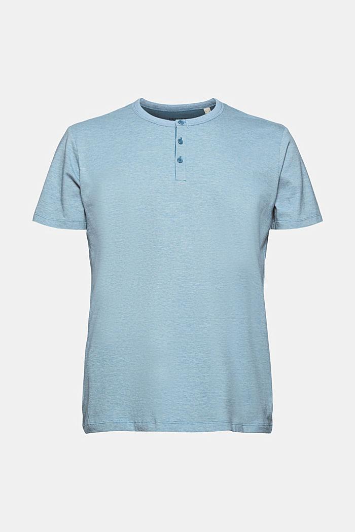 Jersey-Shirt aus 100% Organic Cotton, PETROL BLUE, detail image number 6