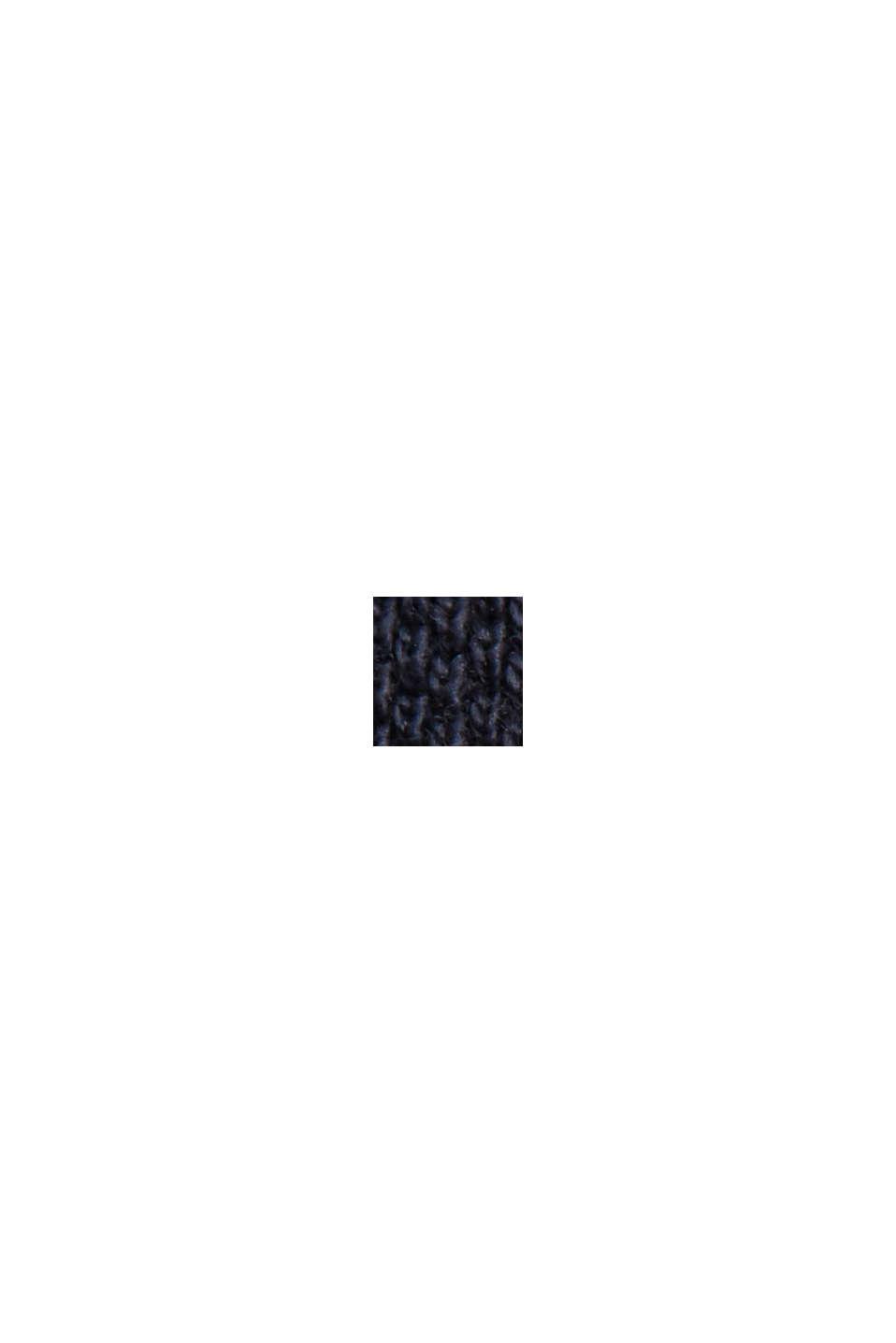Piqué-Poloshirt aus 100% Organic Cotton, NAVY, swatch