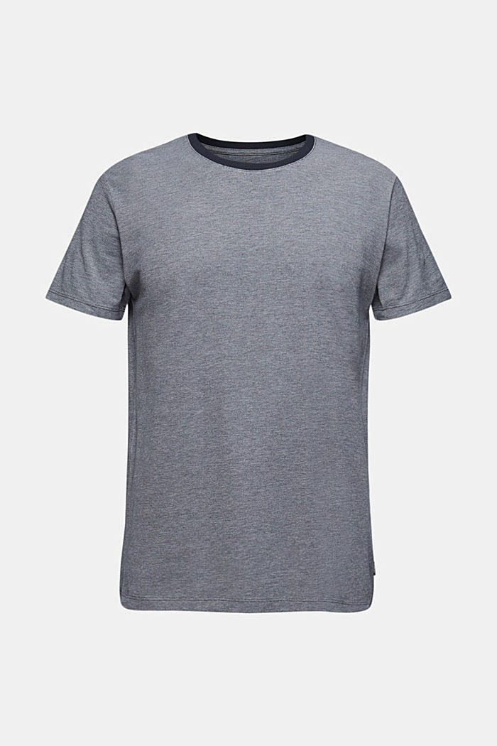 Piqué-T-Shirt aus Organic Cotton