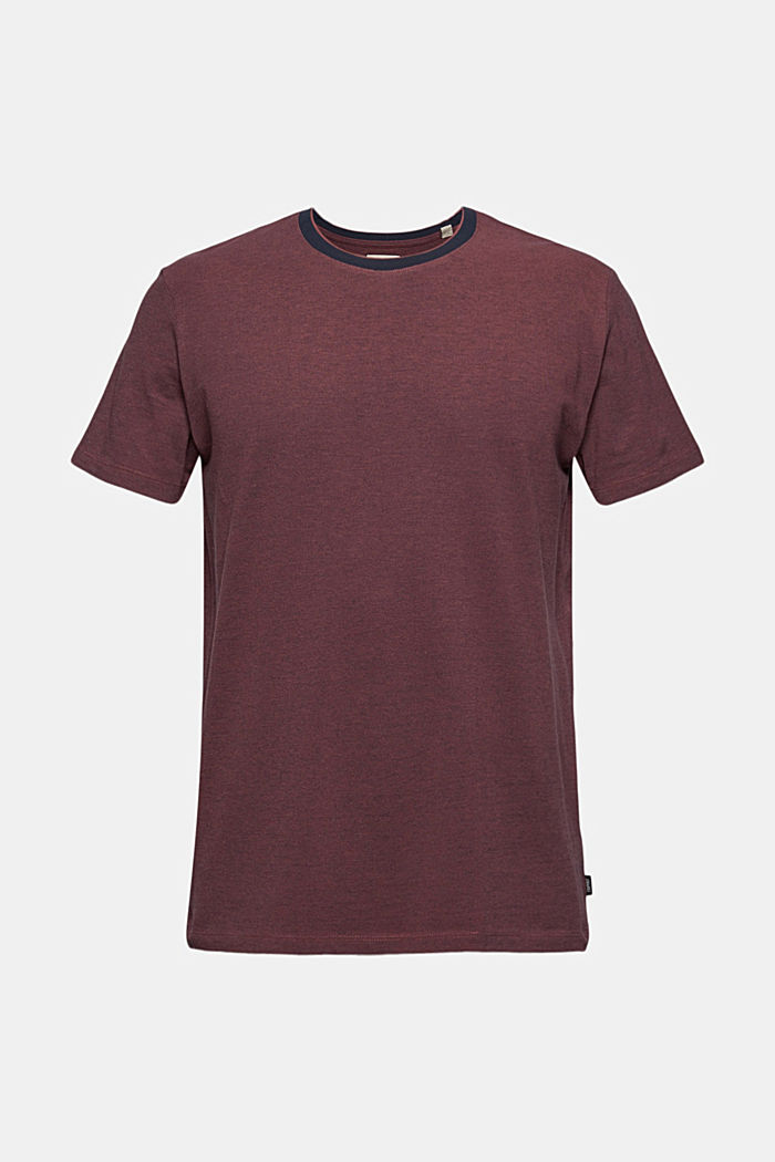 Piqué T-shirt made of organic cotton