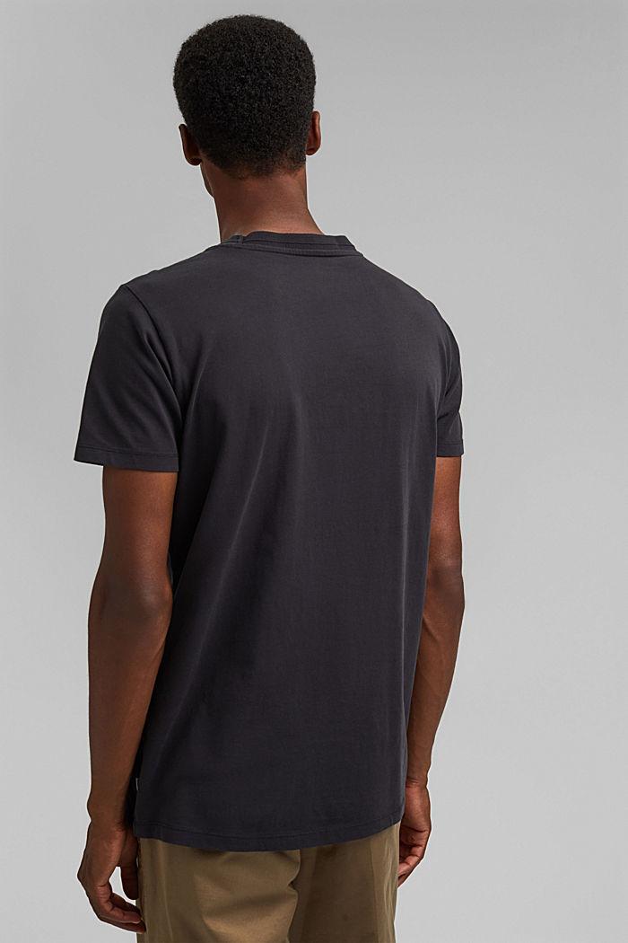 Jersey T-shirt made of 100% organic cotton, BLACK, detail image number 3