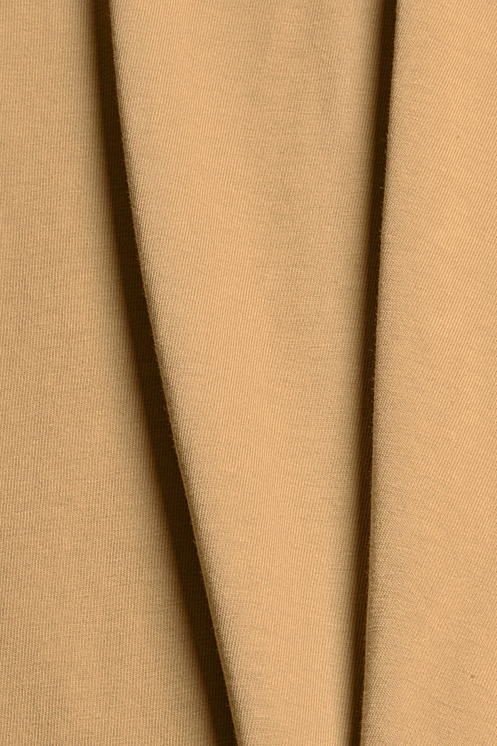 Jersey T-shirt made of 100% organic cotton, BEIGE, detail image number 4