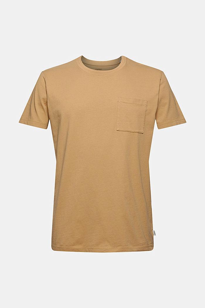 Jersey T-shirt van 100% biologisch katoen