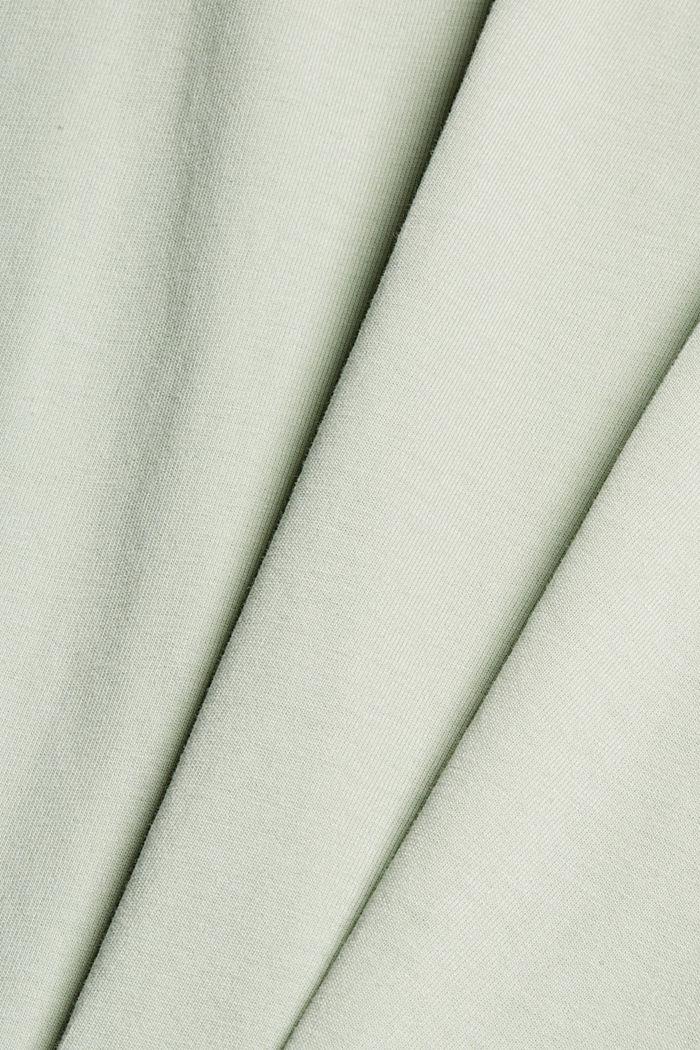 T-shirt i jersey af 100 % økologisk bomuld, PASTEL GREEN, detail image number 4