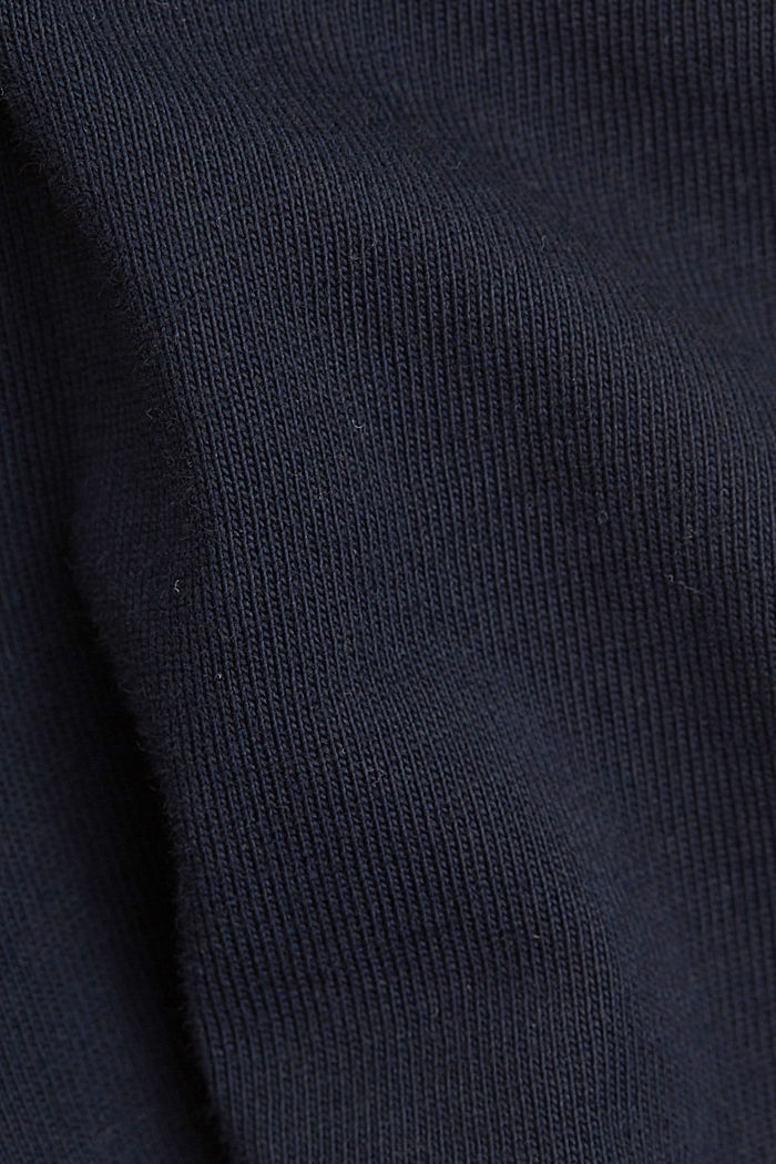 Jersey T-shirt made of 100% organic cotton, NAVY, detail image number 4