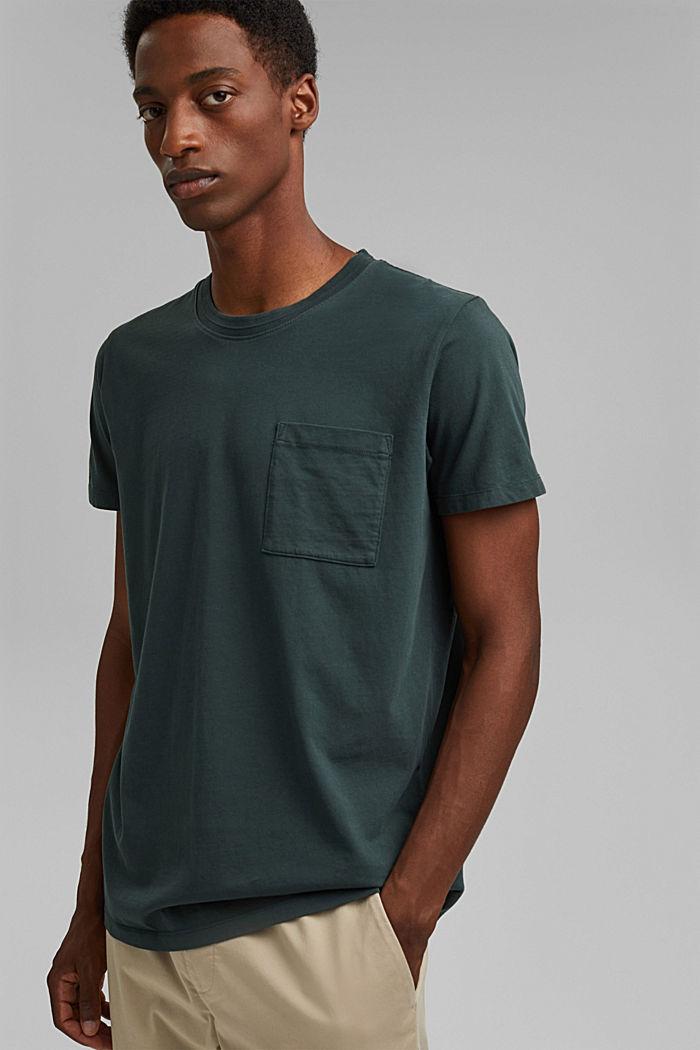 Camiseta de jersey en 100% algodón ecológico
