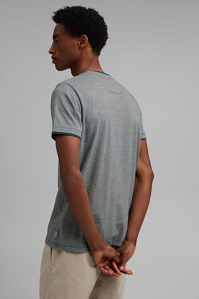 Layer-Jersey-Shirt, 100% Bio-Baumwolle, TEAL BLUE, detail image number 3
