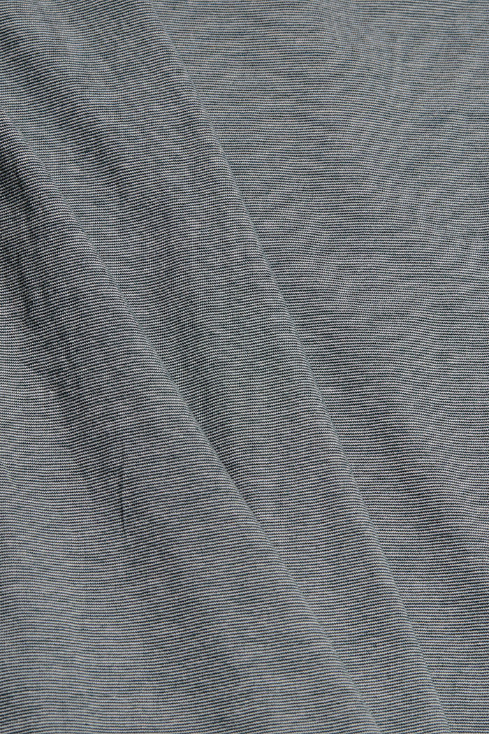 Layer-Jersey-Shirt, 100% Bio-Baumwolle, TEAL BLUE, detail image number 4