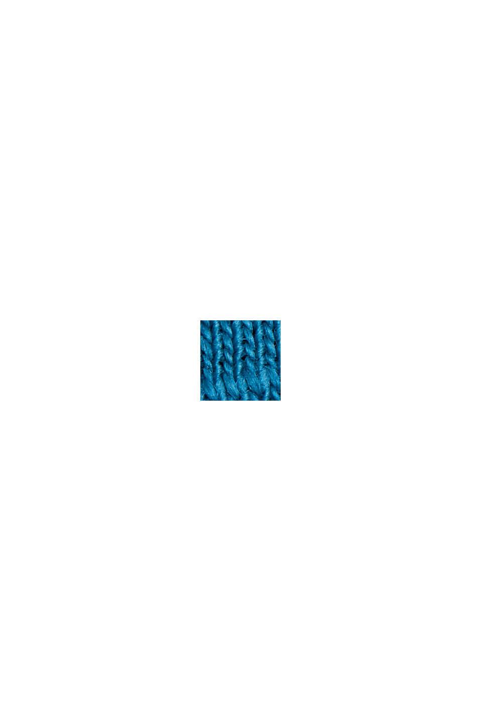 Jersey Layer-T-Shirt aus 100% Bio-Baumwolle, PETROL BLUE, swatch