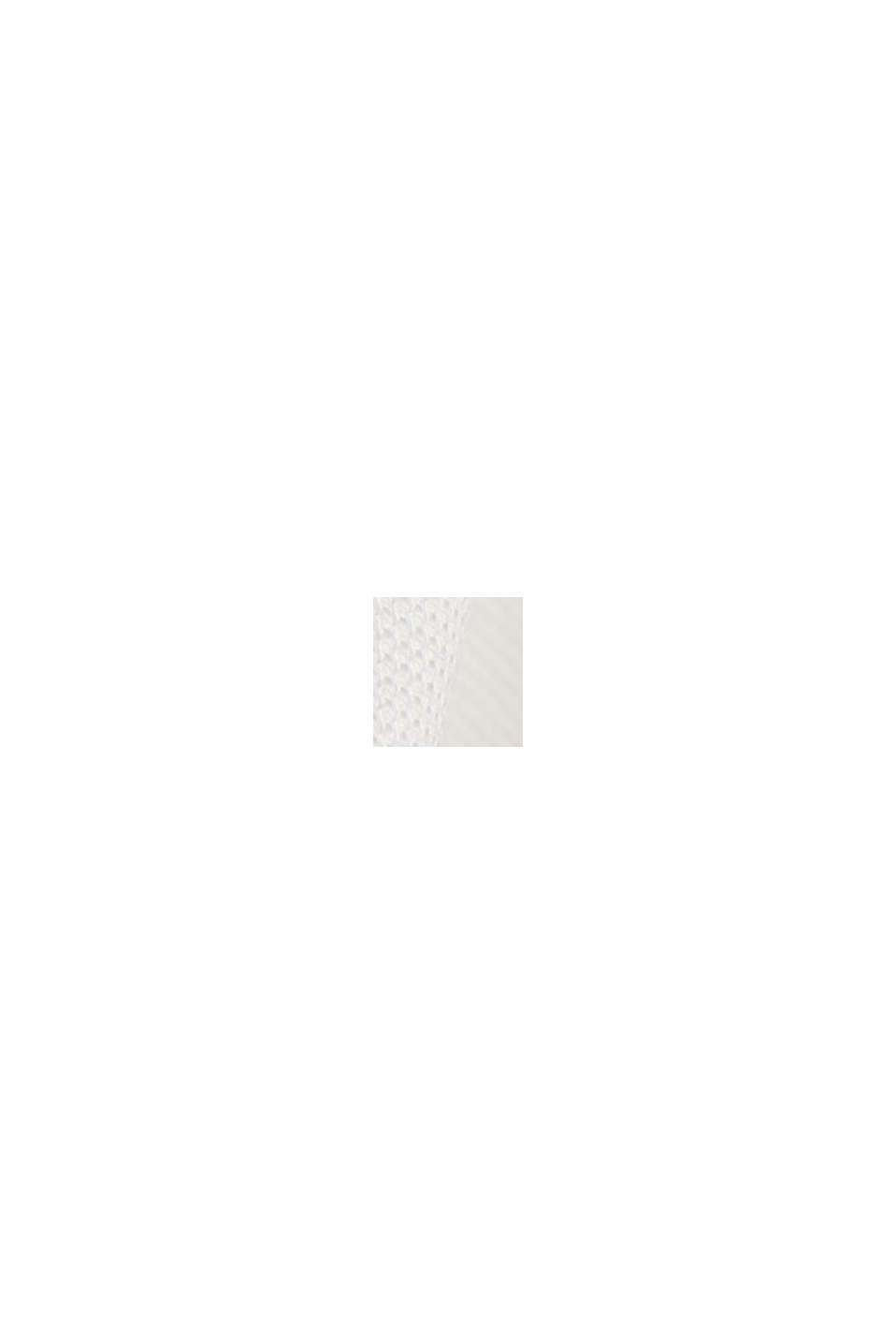 Piqué-Poloshirt aus Organic Cotton, OFF WHITE, swatch