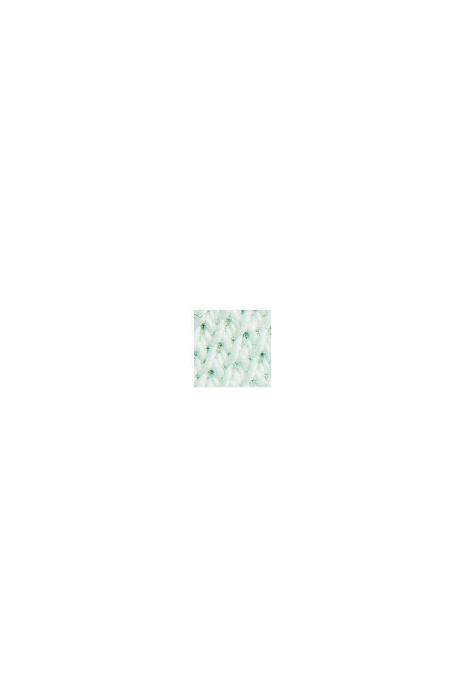 Piqué-Poloshirt aus Organic Cotton, PASTEL GREEN, swatch