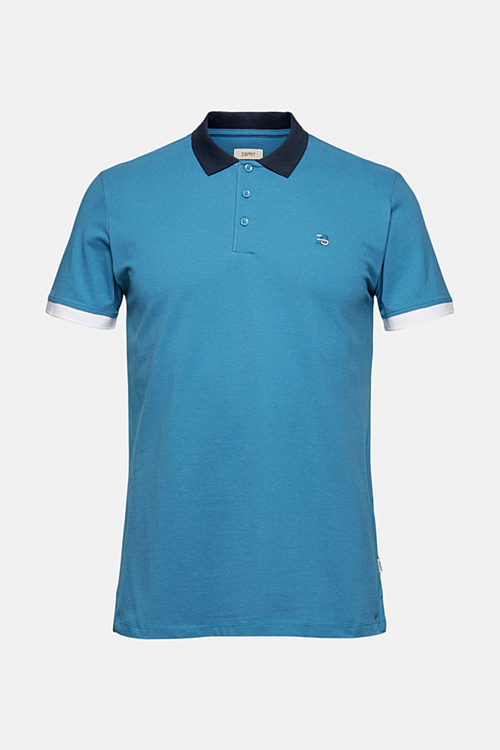 Piqué-Poloshirt aus Organic Cotton