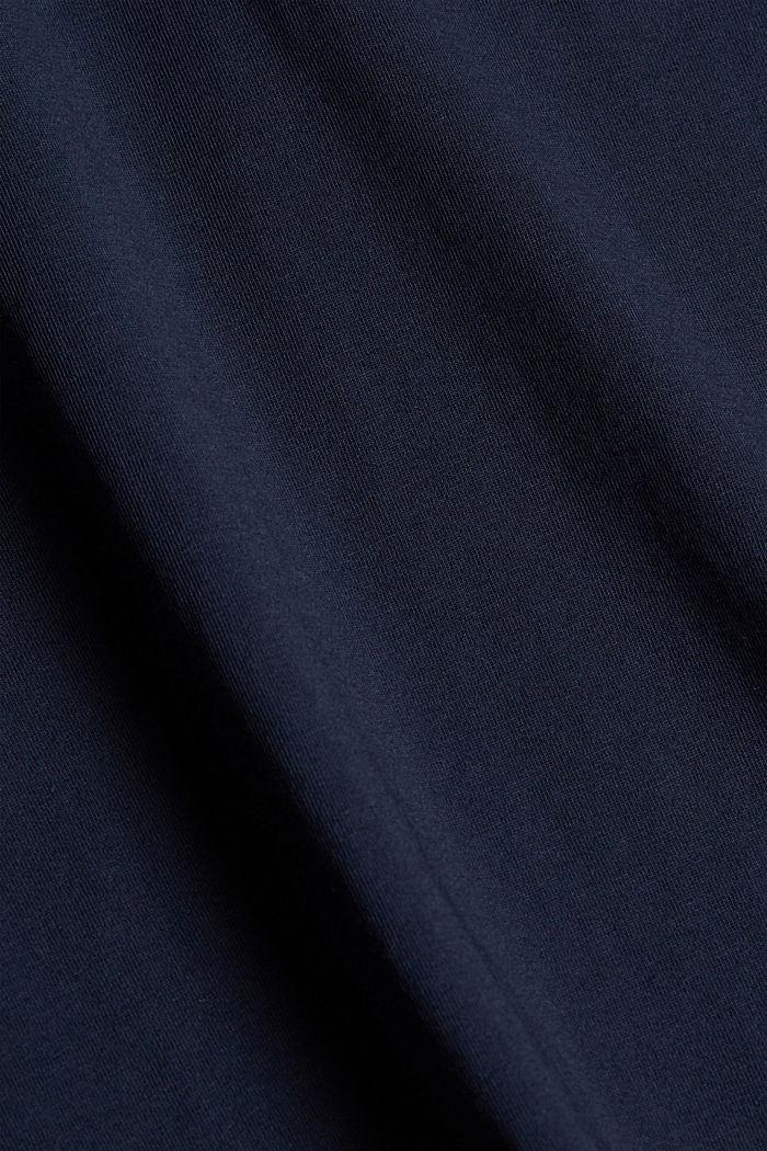 Organic cotton print T-shirt, NAVY, detail image number 4