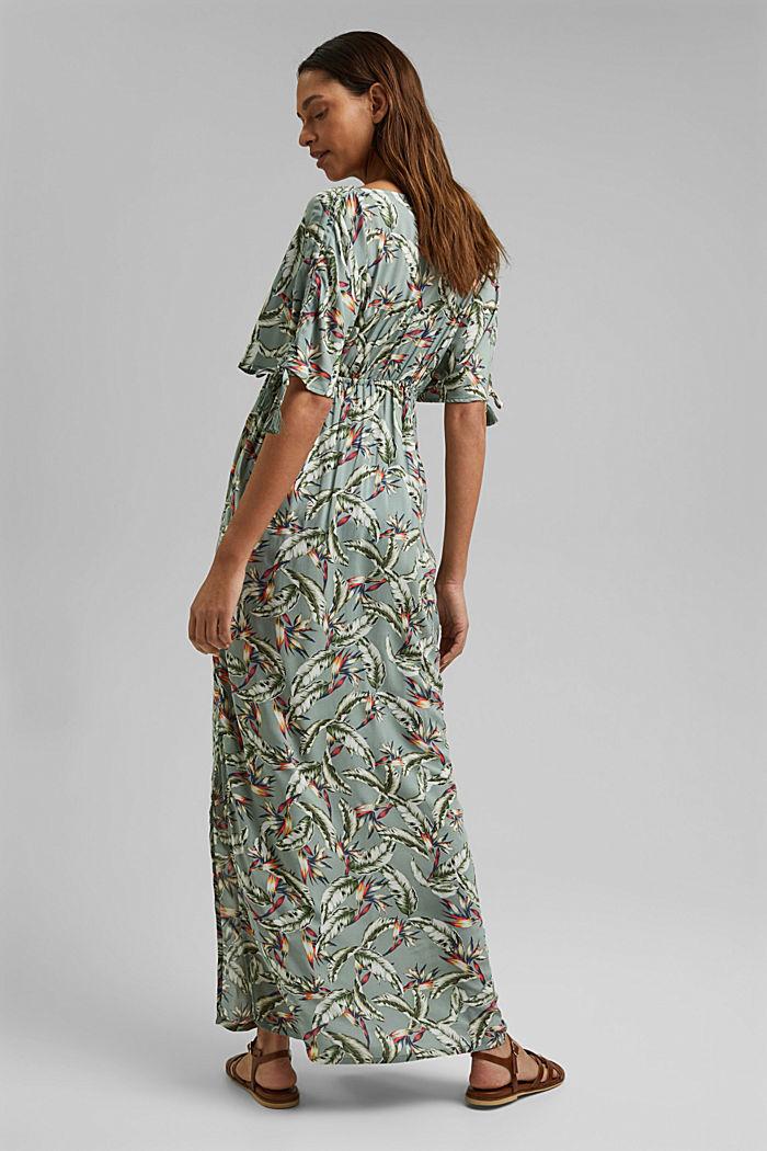 Plażowa sukienka maxi z LENZING™ ECOVERO™, LIGHT KHAKI, detail image number 1