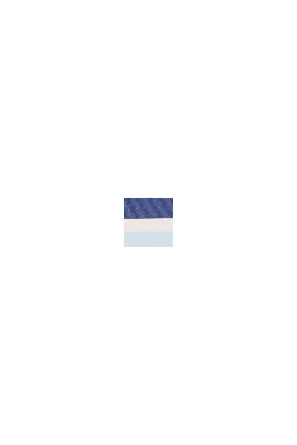 Bañador acolchado con rayas, NAVY, swatch