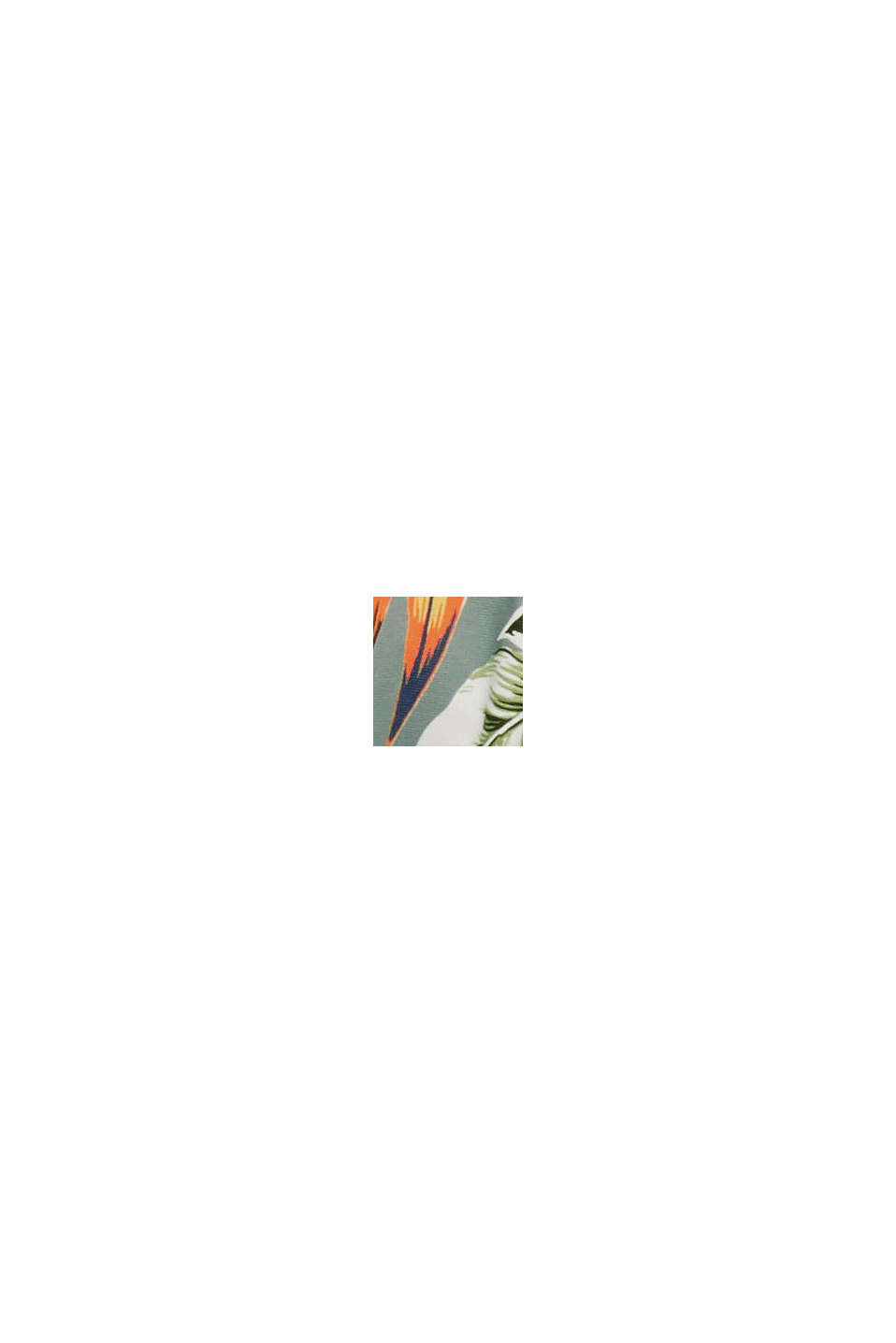 Recycelt: Bügel-Top mit Tropical-Print, LIGHT KHAKI, swatch