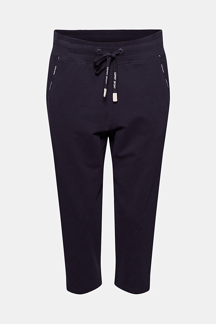 Capri-Pants mit Organic Cotton, NAVY, detail image number 6