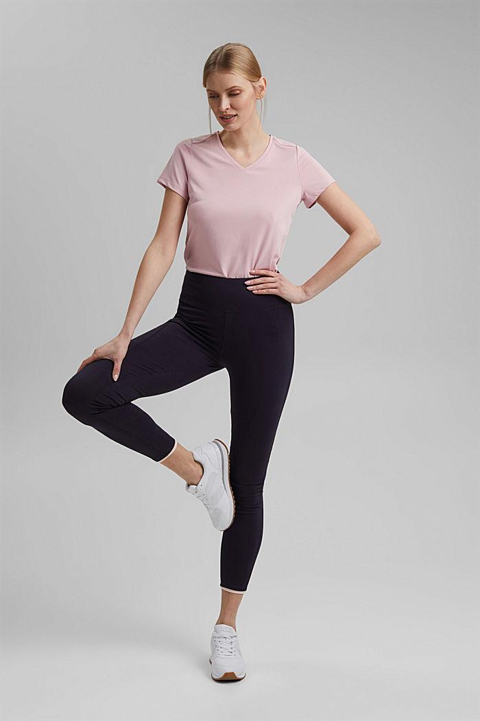 Jersey leggings made of organic cotton, NAVY, detail image number 1