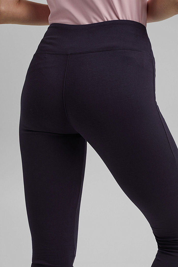 Jersey-Leggings aus Organic Cotton, NAVY, detail image number 5