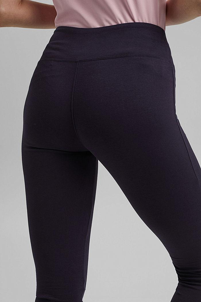 Jersey leggings made of organic cotton, NAVY, detail image number 5