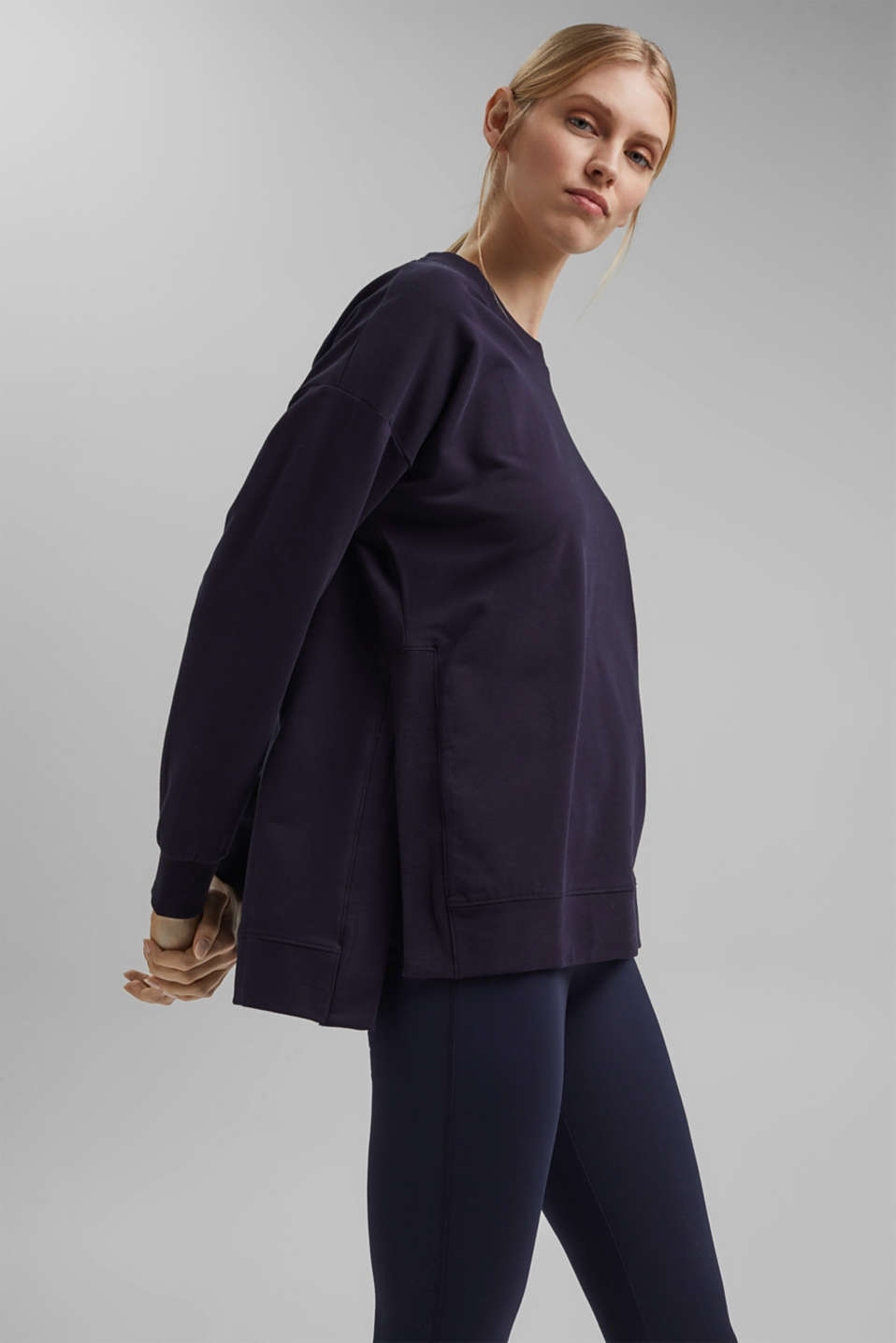 Esprit - Sweatshirt in organic cotton