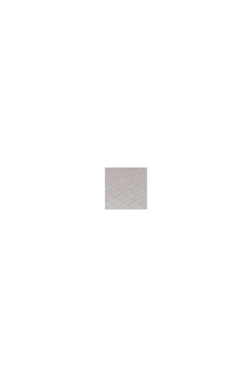 TENCEL™/misto modal: maglia con cotone biologico, OFF WHITE, swatch