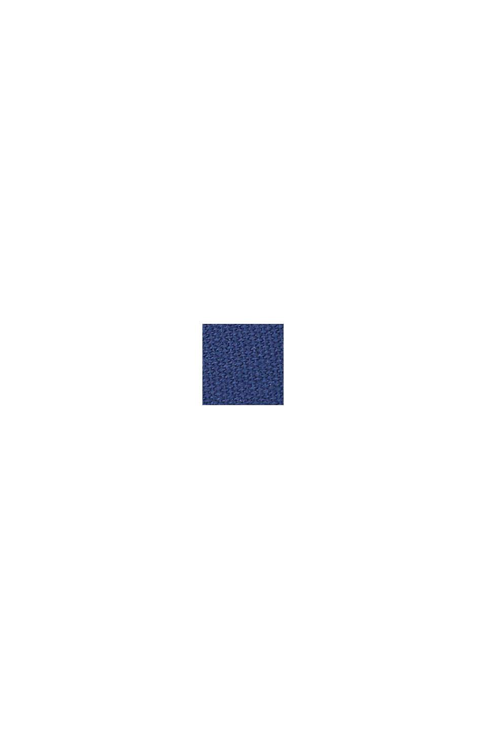 Sneakers en toile à semelle plateau, DARK BLUE, swatch