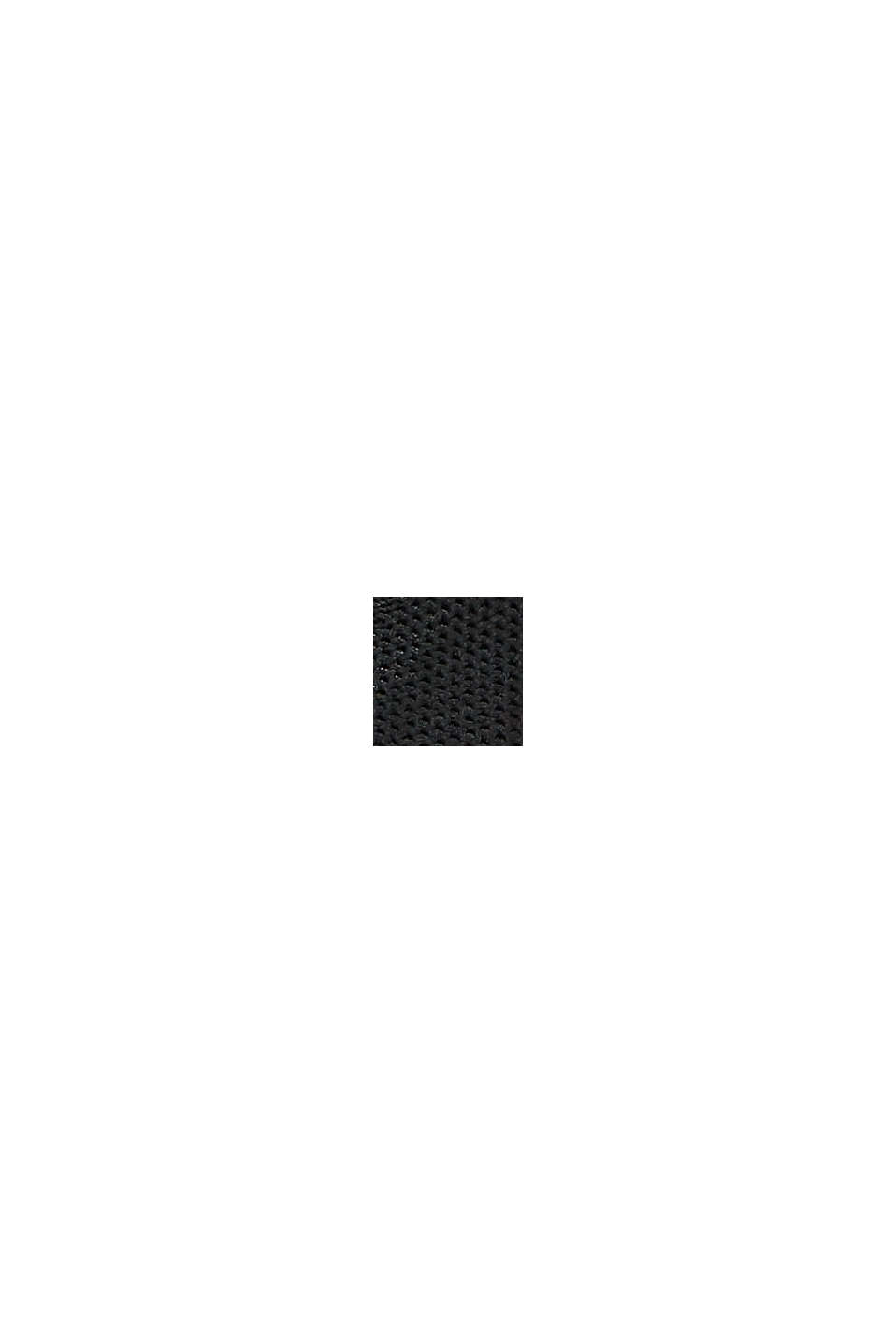 Sneakers en maille combinée, BLACK, swatch