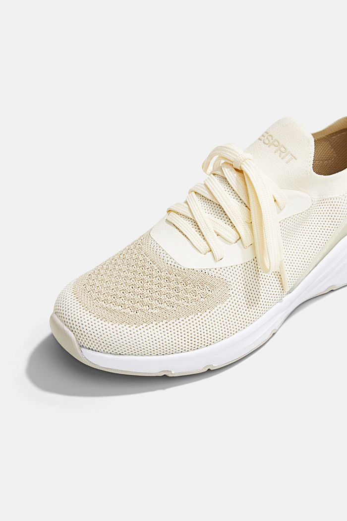 Combined knit trainers, OFF WHITE, detail image number 4