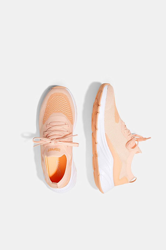 Kombinierte Knit-Sneaker, ORANGE, detail image number 1