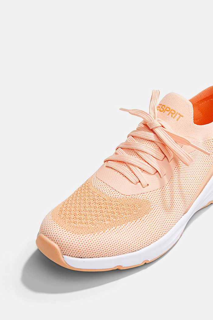 Kombinierte Knit-Sneaker, ORANGE, detail image number 4