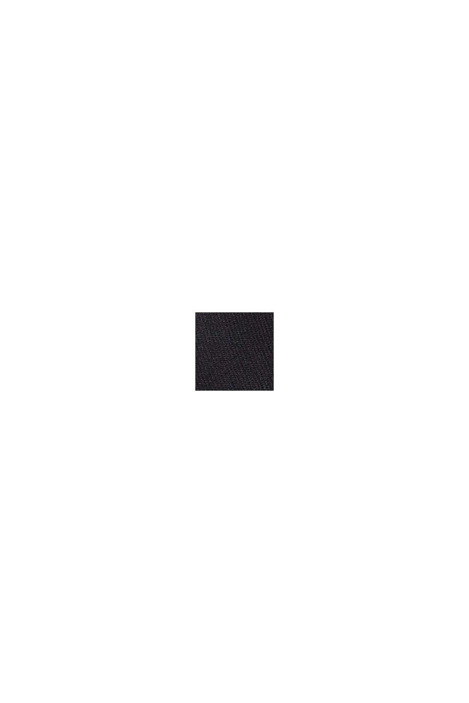 Sneakers en toile à semelle logo, BLACK, swatch