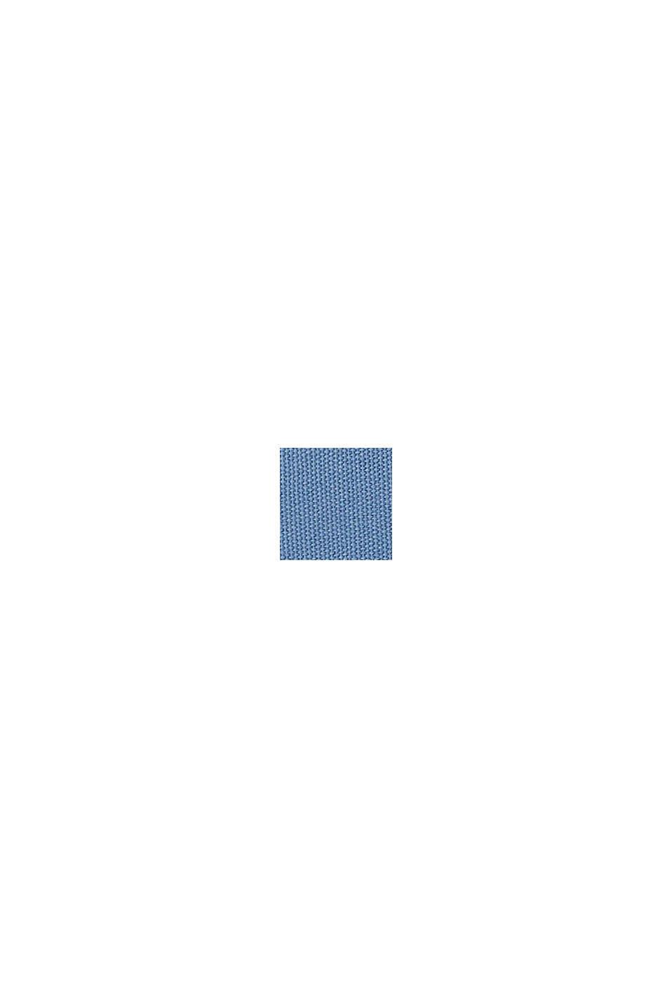 Sneakers en toile à semelle logo, GREY BLUE, swatch