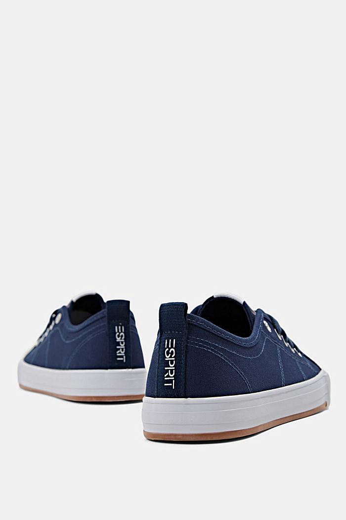 Canvas-Sneaker aus 100% Baumwolle, DARK BLUE, detail image number 5