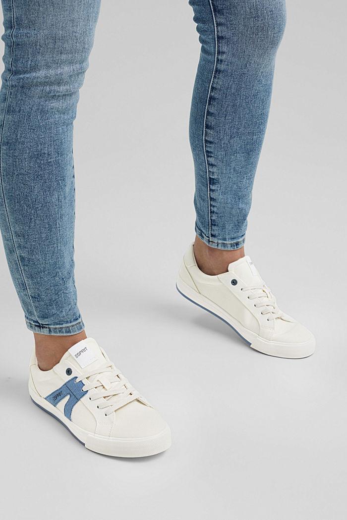 Sneakers en toile, 100% coton
