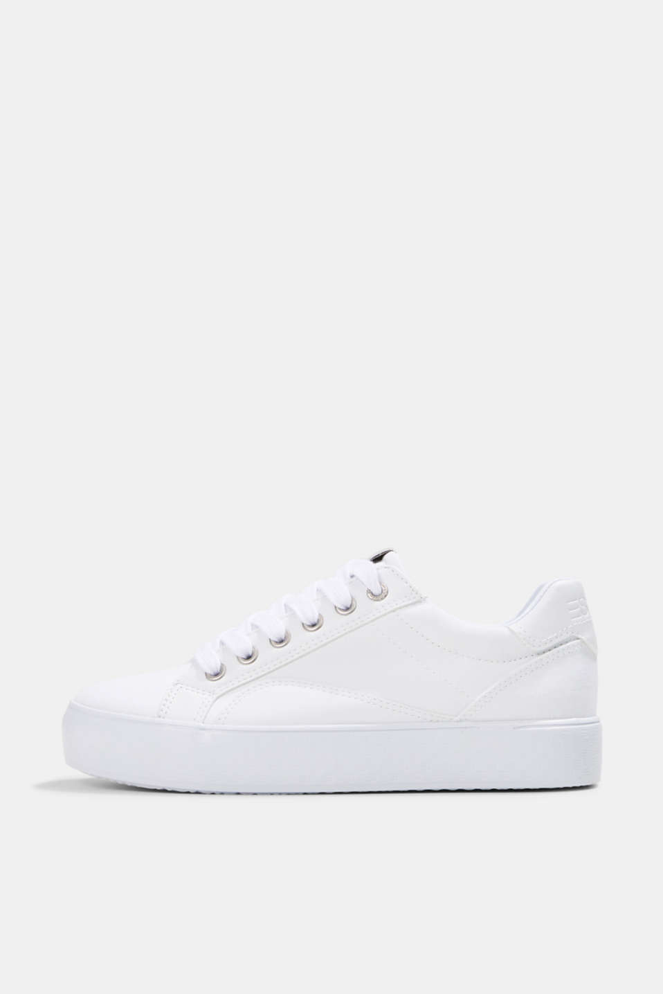 Esprit - Canvas trainers with a monogram sole