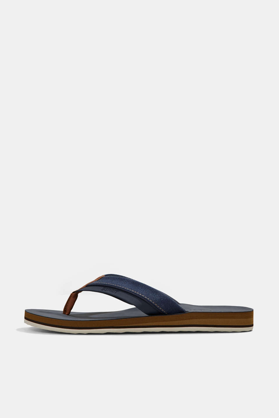 Esprit - Material-mix thong sandals