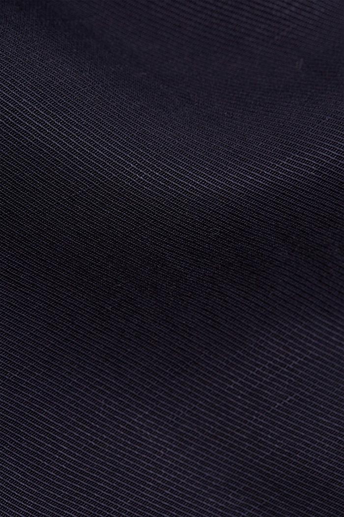 SOFT Mix + Match linen blend trousers, NAVY, detail image number 4
