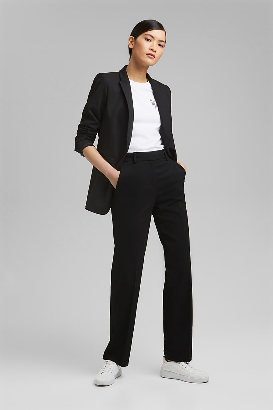 TWILL Mix + Match high rise broek
